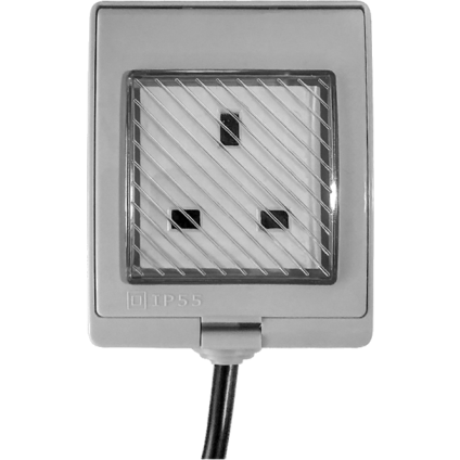 Shelly UK IP55 Outdoor Plug